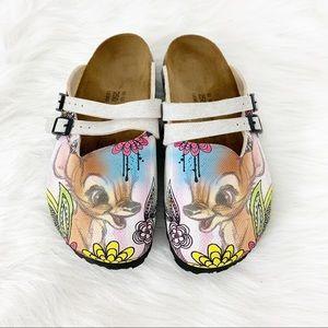 Birkenstock l Disney Bambi Birkis Clogs Sandals 8